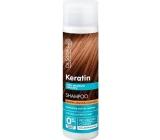 Dr. Santé Keratin Hair regenerační a hydratační šampon pro křehké lámavé vlasy bez lesku 250 ml