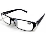 Berkeley Čtecí dioptrické brýle +2 plast černé 1 kus MC2062