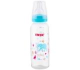 Baby Farlin Kojenecká láhev standardní 3+ měsíců modrá 240 ml AB-41012 B
