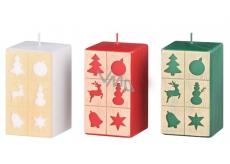Arome Okénka vánoční motiv svíčka hranol 60 x 110 mm 335 g 1 kus