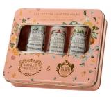 Panier des Sens Muškát, Jasmín a Pomeranč luxusní francouzský hydratační krém na ruce 3 x 30 ml, kosmetická sada
