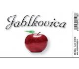 Arch Samolepka Jablkovica velká etiketa 8,5 x 5,5 cm SK