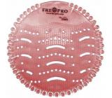 Fre Pro Wave Kiwi a grapefruit vonné sítko do pisoáru růžové 19 x 20,3 x 1,9 cm 52 g