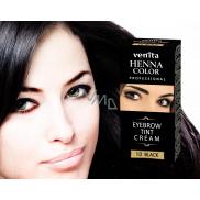 Venita Henna Profesional krémová barva na obočí Black 15 ml