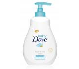 Dove Baby Rich Moisture mycí gel na tělo a vlasy pro děti 200 ml
