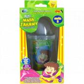 Joker Slimy Sliz se svítící a hrací kuličkou modrý 140 g