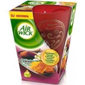 Air Wick Essential Oils Vůně orientu Prémiová vonná svíčka ve skle 150 g