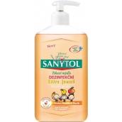 Sanytol Extra jemné dezinfekční tekuté mýdlo vhodné pro děti s dávkovačem 250 ml
