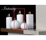 Lima Mramor Intimity vonná svíčka bílá válec 60 x 120 mm 1 kus
