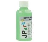 JP arts Univerzální akrylátová barva lesklá, svítící ve tmě Neon zelená 50 g