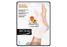 Iroha Repair Regenerační maska na nohy a nehty s broskvovým sérem 2 x 9 ml