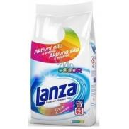 Lanza Fresh & Clean Color prací prášek na barevné prádlo zachovává intenzitu barev, s příjemnou vůní 90 dávek .6,3 kg