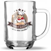 Nekupto Hobby pivní sklenice Vášnivý kuchař 500 ml