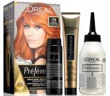 Loreal Paris Préférence barva na vlasy 74 Dublin Intenzivně měděná