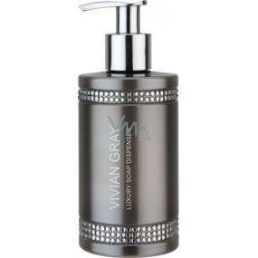 Vivian Gray Crystal In Brown luxusní hydratační tekuté mýdlo 250 ml