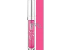 Pupa Glossy Lips lesk na rty 203 Fuchsia Paillettes 7 ml