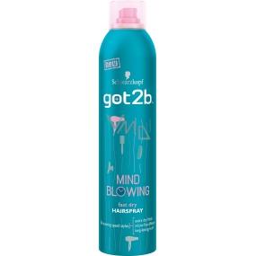 Got2b Mind Blowing Fast Dry Rychleschnoucí lak na vlasy 300 ml
