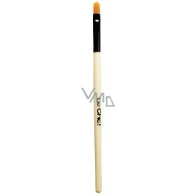 Be Chic! Professional White B 13 kosmetický štětec na rty plochý, syntetický vlas 15 cm