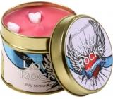 Bomb Cosmetics Láska jako trám - Love Rocks Candle Vonná přírodní, ručně vyrobena svíčka v plechové dóze hoří až 35 hodin