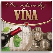 Nekupto Miniknížka s citáty Pro milovníky vína