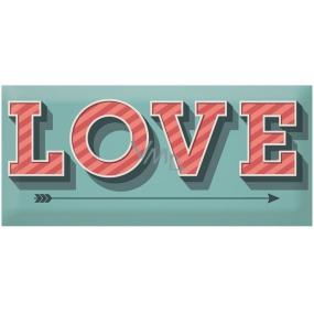 Bohemia Gifts & Cosmetics Love Condoms dárkový kondom Love Blue 1 kus