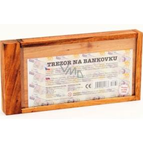 Albi Hlavolam Trezor na bankovku 2,5×20×9,5 cm.