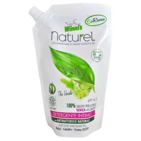 Winnis Naturel Sapone Intimo The Verde Ecoricarica tekuté mýdlo náhradní náplň 500 ml