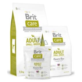 Brit Care Adult Jehněčí s rýží pro dospělé psy malých a trpasličích plemen 1-10 kg, 7,5 kg, Hypoalergenní kompletní krmivo