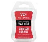 WoodWick Crimson Berries - Jeřabiny s kořením vonný vosk do aromalampy 22.7 g