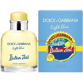 Dolce & Gabbana Light Blue Italian Zest pour Homme toaletní voda 125 ml