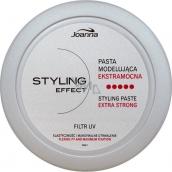 Joanna Styling Effect Tvarovací pasta na vlasy stříbrná 90 g