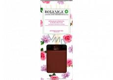 Air Wick Botanica Exotická růže a africká pelargónie vonné tyčinky osvěžovač vzduchu 80 ml