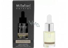 Millefiori Milano Natural Incense & Blond Woods - Kadidlo a Světlá dřeva Aroma olej 15 ml