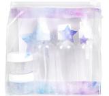 Albi Original Cestovní sada lahviček 3 x 80 ml + 2 nádobky + Vesmír pouzdro - 15 cm x 15 cm x 4,5 cm