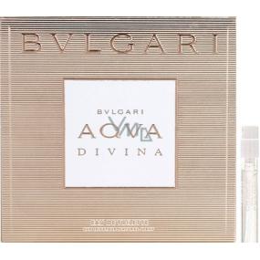 Bvlgari Aqva Divina toaletní voda pro ženy 1,5 ml s rozprašovačem, Vialka