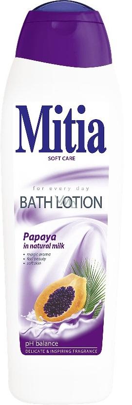 Mitia Papaya in Natural Milk krémová pěna do koupele 750 ml