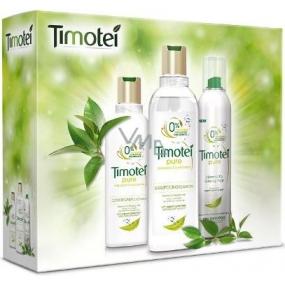 Timotei Čistota šampon na vlasy 400 ml + kondicionér 200 ml + suchý šampon 245 ml, kosmetická sada