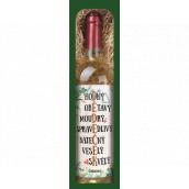 Bohemia Gifts Chardonnay Dědovi bílé dárkové víno 750 ml