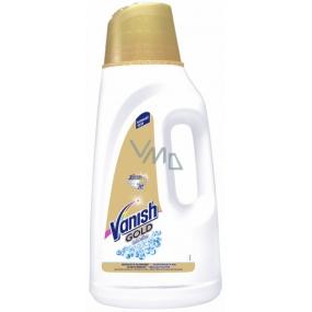 Vanish Gold Oxi Action Gel White tekutý odstraňovač skvrn na bílé prádlo 18 dávek 1800 ml
