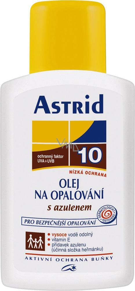 Astrid F10 Azulen Olej na opalování 200 ml
