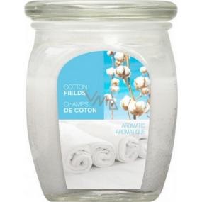 Bolsius Aromatic Cotton Fields - Bavlněné plantáže vonná svíčka ve skle 92 x 120 mm 830 g, doba hoření 100 hodin