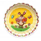 Ditipo Velikonoční papírový talíř Zajíček 22 cm