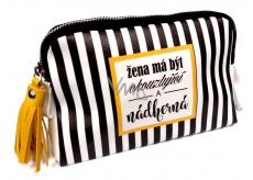 ... Nekupto Buď Jedinečná kosmetická taška Pruhy 20 x 11 cc2e9c6ab87