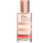 Esprit Life by Esprit for Her toaletní voda pro ženy 40 ml Tester