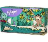 Bella Happy Baby Opice hygienické kapesníky 2 vrstvé 150 kusů