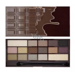 I Heart Revolution Chocolate paletka očních stínů Smrt čokoládou 22 g