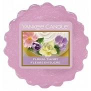 Yankee Candle Floral Candy - Dortík s květy vonný vosk do aromalampy 22 g