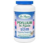 Dr. Popov Psyllium Slim kapsle vláknina pro efektivní a snadné hubnutí doplněk stravy 120 kusů