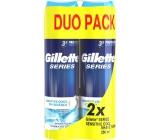 Gillette Series Sensitive Cool pěna na holení pro muže 2 x 250 ml, duopack