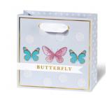 BSB Luxusní dárková papírová taška 145 x 15 x 6 cm Dots & Mutterfly LDT 408 - CD